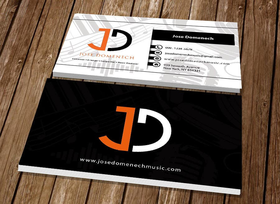 Contest Entry #98 for Logo Design and Business Card Musician