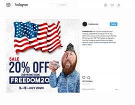 #21 untuk Instagram sale ad oleh russellgd85
