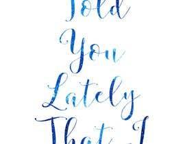 Nro 34 kilpailuun Create a hand lettered poster käyttäjältä KoyaVentures
