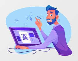 #8 for Illustration - Flat Modern Theme by obiixx