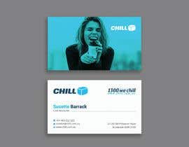 #356 for CHILL - Stationery Design Comp by Designopinion