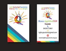 Dipto97 tarafından Buisness card for Light Up Autism Foundation için no 610