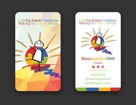 jahid0011 tarafından Buisness card for Light Up Autism Foundation için no 611