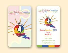jahid0011 tarafından Buisness card for Light Up Autism Foundation için no 624