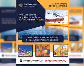 ihr1478 tarafından create a flyer for logistic services için no 32