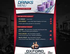 #18 for Design a Flyer for a Protein Shake Menu by lukzzzz