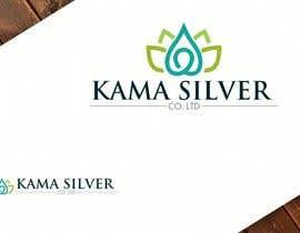 Nro 30 kilpailuun Kama silver logo design. I need a logo with lotus in it. For my website. I am a wholesaler of silver jewellery. Need for my website käyttäjältä Mukhlisiyn