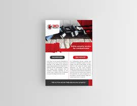 #135 for Flyer for online security service for condominiums by Creativetayef