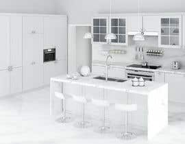 #4 for Neoclassical open kitchen by DohaElamin