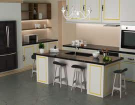 #11 for Neoclassical open kitchen by simpleestudio