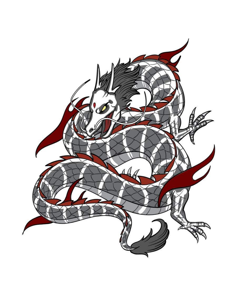 Конкурсная заявка №                                        139                                      для                                         Dragon Art Contest2 - original art only - Vector, painted, raster