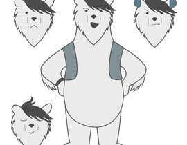 #50 for Design a cartoon character: cute metalhead polar bear by tSristy