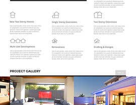 #36 for Design a Website Mockup for Construction Company by noninoey
