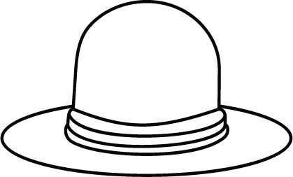 Kilpailutyö #                                        8                                      kilpailussa                                         Simple Hat Sketches