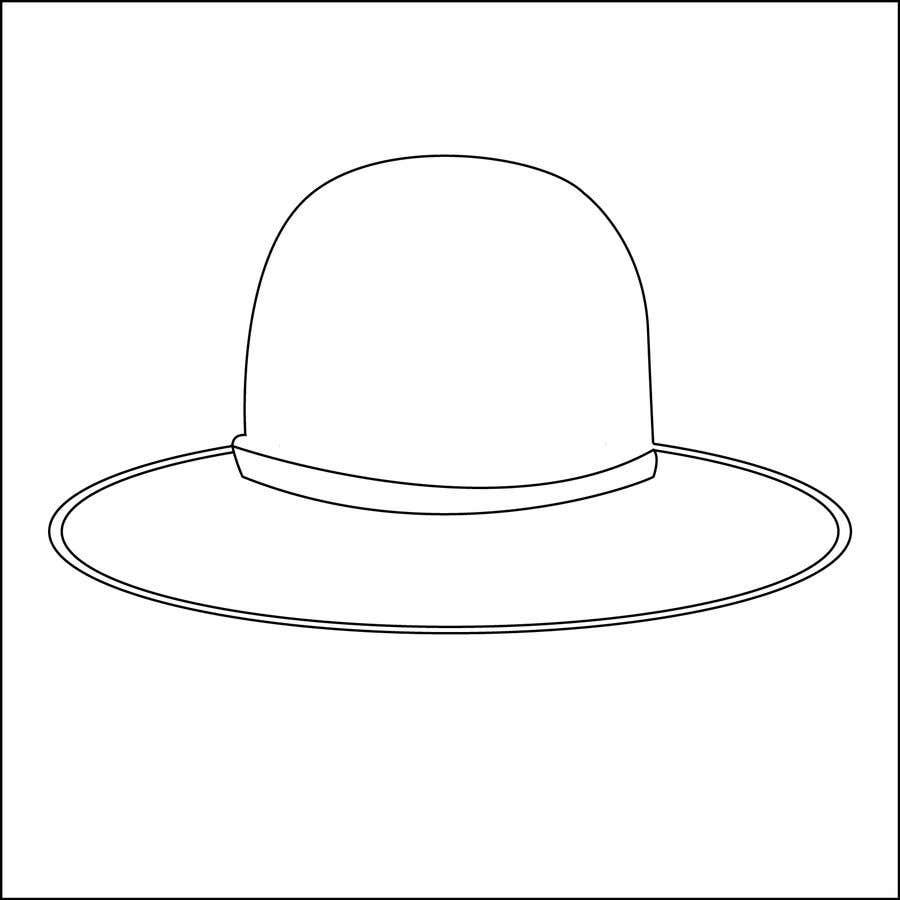 Kilpailutyö #                                        1                                      kilpailussa                                         Simple Hat Sketches