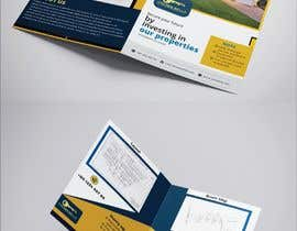 #26 cho Bi Fold Flyer design for a plot sales(Layout )(Real estate) with content improvement. bởi redifa
