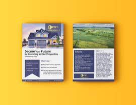 #14 cho Bi Fold Flyer design for a plot sales(Layout )(Real estate) with content improvement. bởi fjannatul398