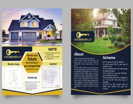 #22 cho Bi Fold Flyer design for a plot sales(Layout )(Real estate) with content improvement. bởi Tushar3927