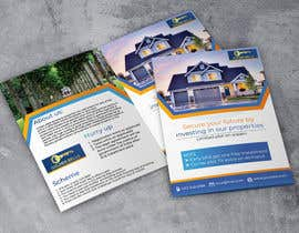 #16 cho Bi Fold Flyer design for a plot sales(Layout )(Real estate) with content improvement. bởi litonahmed87