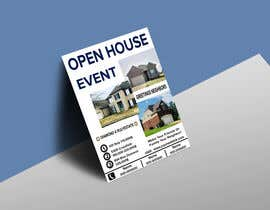 #14 для Create an open house flyer.  I attached the information and layout I want.  I also attached the 3 pictured I would like to use as well. от kabir3400