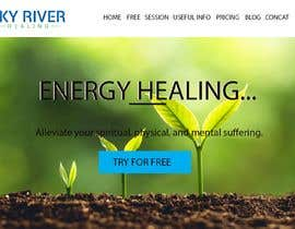 #340 for Need a feature image for energy healing website. by azizsheak