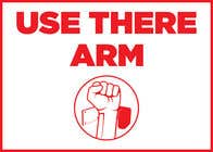 Graphic Design Конкурсная работа №2 для hand free arm puller door sign