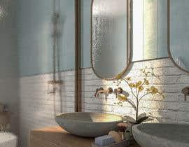 Nro 169 kilpailuun Design a bathroom! käyttäjältä esmailtawfike