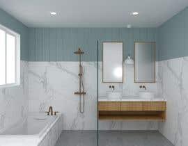 Nro 3 kilpailuun Design a bathroom! käyttäjältä dhanashree94