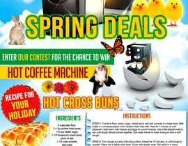 #22 for Design an email Flyer for Easter Kitchen/Laundry Appliances by mirandalengo