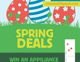 #18 for Design an email Flyer for Easter Kitchen/Laundry Appliances by skanone