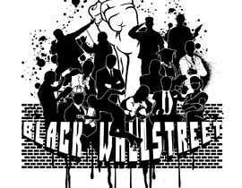 "#33 cho T-shirt ""Black Wallstreet"" bởi ASIRIdesign"