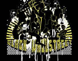 "#36 cho T-shirt ""Black Wallstreet"" bởi ASIRIdesign"