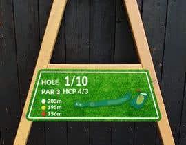 #17 cho golf hole info board design bởi ConceptGRAPHIC