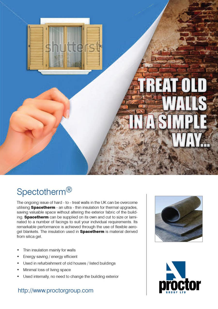 Advertisement Design Contest Entry #69 for Advertisement Design for Spacetherm (Construction)