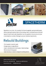 #37 for Advertisement Design for Spacetherm (Construction) by salamhadi