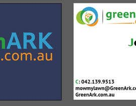 #48 for Create business cards for GreenArk.com.au by yanhakim