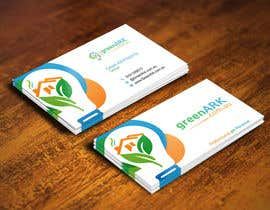 #26 for Create business cards for GreenArk.com.au by gohardecent