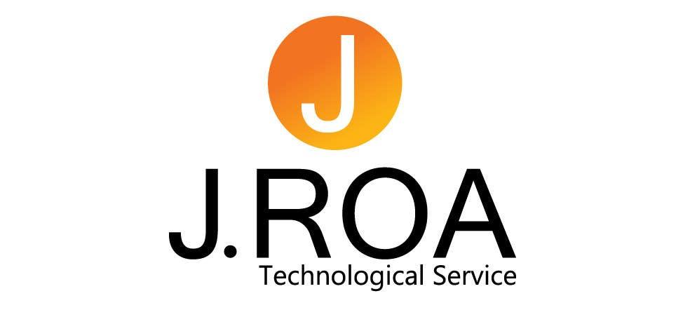 """Intrarea #44 pentru concursul """"Diseñar un logotipo for J.Roa"""""""