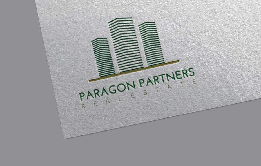 Penyertaan Peraduan #                                        9                                      untuk                                         Make a Logo by combining to Designs. Real estate agent logo