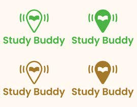 """mringeniouss tarafından I need a logo designed for a """"study buddy"""" phone application.  Any color is ok but I prefer shades of green and brown.  I need it simple yet creative and reproducibl için no 348"""