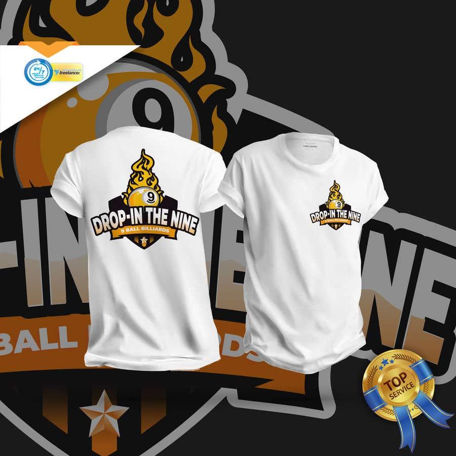 Kilpailutyö #                                        40                                      kilpailussa                                         Create a 9 ball billiard team logo.