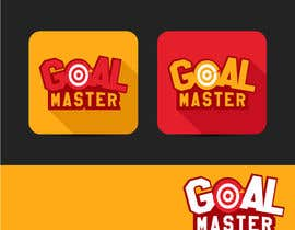 #50 untuk Design a Logo for an App entitled GOAL MASTER oleh GraphicHimani