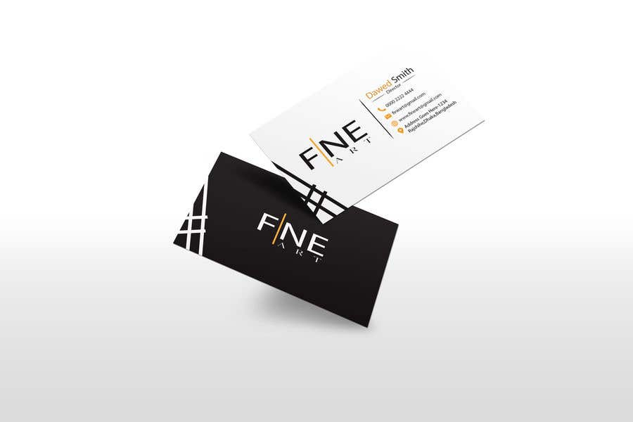 Kilpailutyö #                                        21                                      kilpailussa                                         Logo and business card design