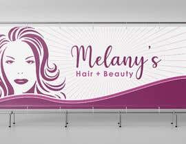 #1887 for Elegant Storefront Logo for Hair + Beauty Salon af ZzeArt