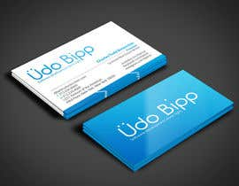 #44 for Design some Business Cards for Udo Bipp by angelacini