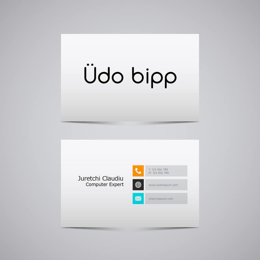 Penyertaan Peraduan #33 untuk Design some Business Cards for Udo Bipp