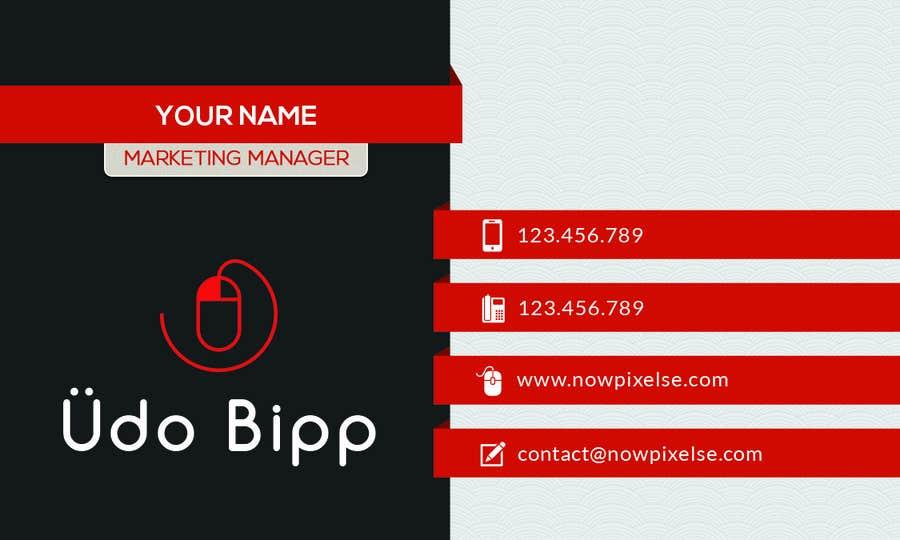 Penyertaan Peraduan #35 untuk Design some Business Cards for Udo Bipp
