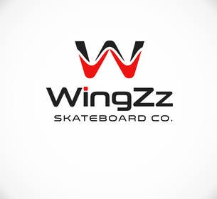 #65 for Design a Logo for WingZz Skateboard Co. by ChKamran