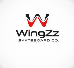 #65 pentru Design a Logo for WingZz Skateboard Co. de către ChKamran