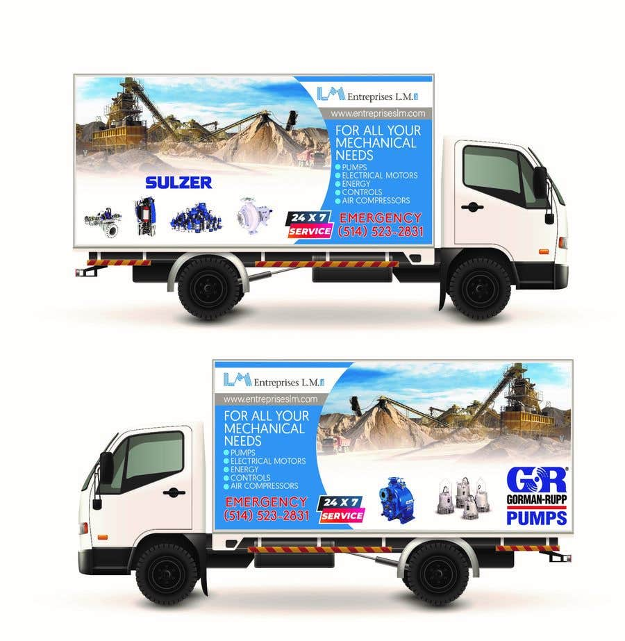 Contest Entry #                                        81                                      for                                         New service truck design